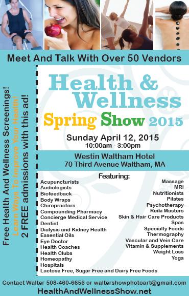 Health & Wellness Spring Show April 12 2015