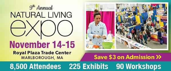 9th Annual Natural Living Expo November 14 & 15
