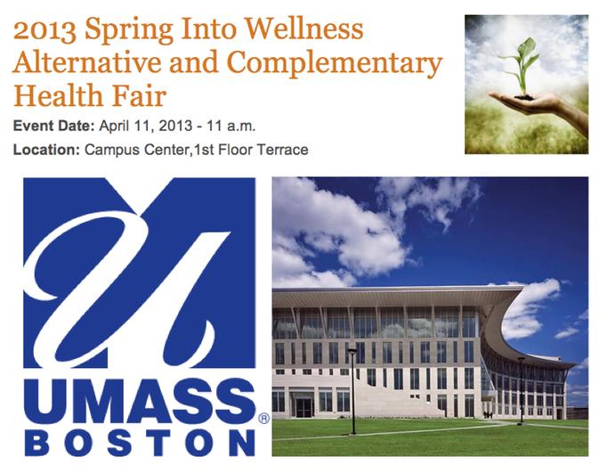 2013 Spring Into Wellness Health Fair April 11, 2013
