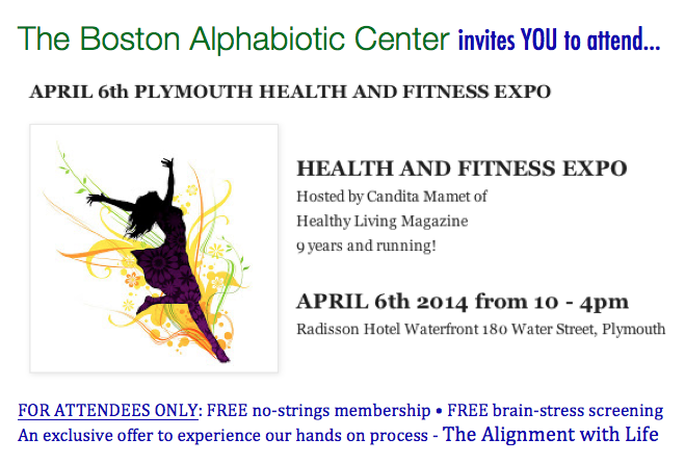 Health and Fitness Expo April 6, 2014 10-4