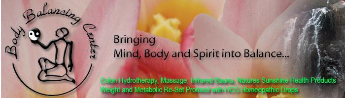 Bringing Mind, Body and Spirit December 18, 2013 - Body Balancing Center