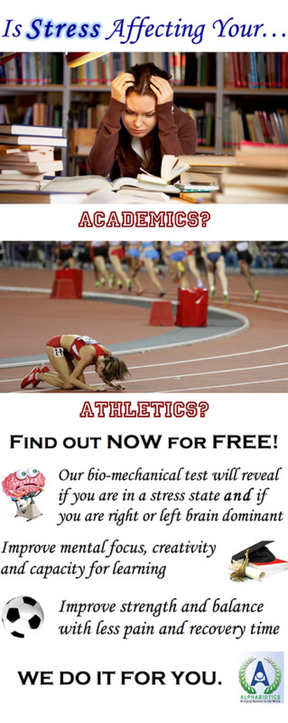 Is Stress Affecting Your Academics? Athletics?