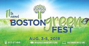 Boston GreenFest 2018